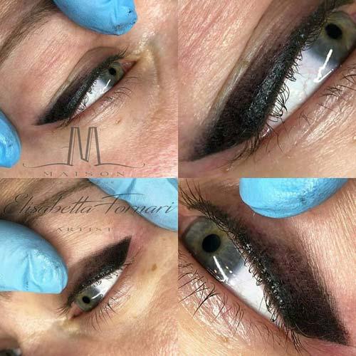 Trucco semipermante occhi